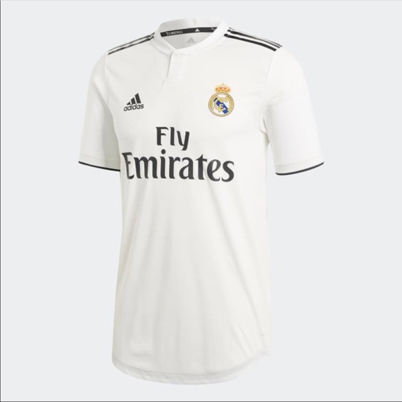 Adidas REAL MADRID HOME AUTHENTIC JERSEY CG0561 d1e02fc59